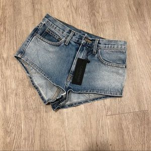Carmar LF stores super cheeky denim shorts 25